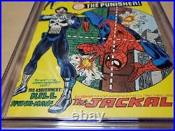 Amazing Spider-man 129 4.5 CGC 1st Punisher OW to White never pressed