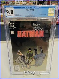 BATMAN #404 (DC Comics, 1987) CGC Graded 9.8! YEAR ONE White Pages