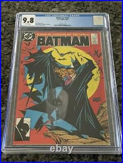 BATMAN #423 (DC Comics, 1988) 1st Print CGC 9.8 White Pages