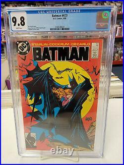 BATMAN #423 (DC Comics, 1988) CGC Graded 9.8! McFARLANE White Pages