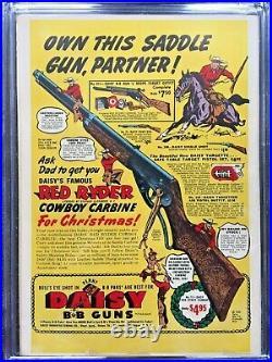 BATMAN #57 CGC FN- 5.5 White pg! Joker story! Scarce
