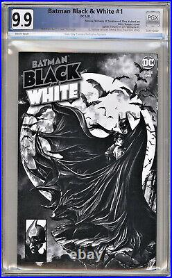 BATMAN BLACK & WHITE #1 HOMAGE TO BATMAN #423 McFarlane PGX NOT (CGC) 9.9