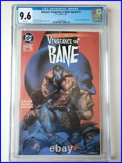 BATMAN Vengeance of Bane CGC 9.6 White Pages 1/93 FREE SHIPPING