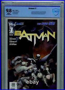 Batman #1 CBCS 9.8 White Pages New 52 2011 Not CGC