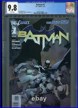 Batman #1 New 52 (1st print) CGC 9.8 White Pages