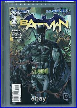 Batman #1 New 52 (Variant cover) CGC 9.8 White Pages