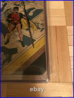 Batman# 10 Cgc 2.0 Cream To Off White Pages (catwoman App. In New Costume)