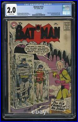 Batman #121 CGC GD 2.0 Off White 1st Mr. Freeze