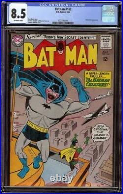 Batman # 162 CGC 8.5 Off-White (DC, 1964) Batwoman appearance