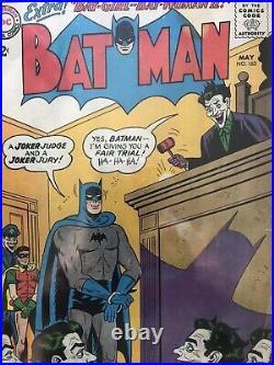Batman 163 CBCS 4.0 Off White Pages 1964 Joker Batman Free Shipping