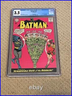 Batman 171 CGC 3.5 OWithWhite Pages (1st SA app Riddler)- Presents Beautifully