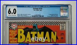 Batman #181 (1966) 1st Appearance Poison Ivy, CGC 6.0 Off-White to White Pages