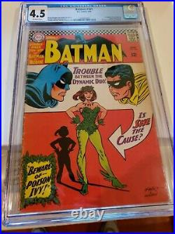 Batman #181 CGC 4.5 1966 1240240001 1st app. Poison Ivy Off White Pages