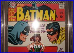 Batman #181 (CGC 6.0 WHITE PAGES) 1st appearance Poison Ivy (Pin up intact)