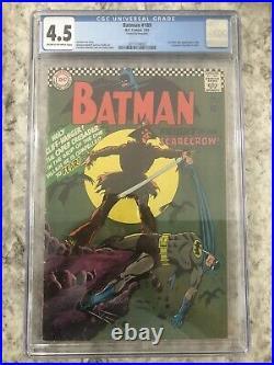 Batman 189 CGC 4.5 cream to off-white pages DC comics 1967