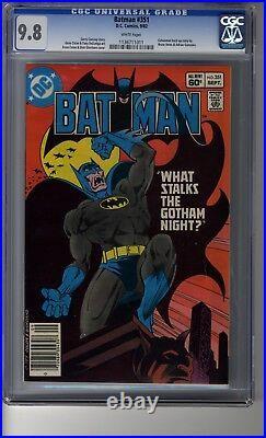 Batman (1940) # 351 CGC 9.8 White Pages Batman & Robin are Vampires