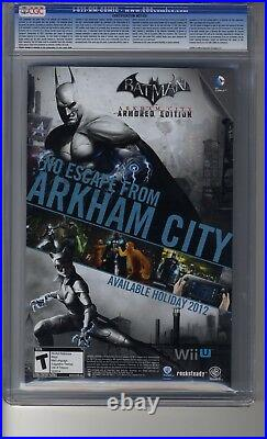 Batman (2011) # 15 125 Greg Capullo RI CGC 9.8 WHITE Pgs -Death of the Family