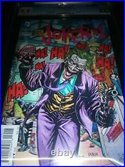 Batman #23.1 (Joker #1). 3D Cover. CGC 9.9. MINT. White Pages. Kubert