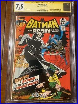 Batman #237 12/71 Cgc 7.5 White Pages! Ss Neal Adams! Super Nice