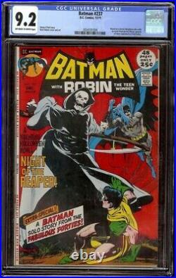 Batman # 237 CGC 9.2 OWithWhite (DC, 1971) Classic Neal Adams Cover