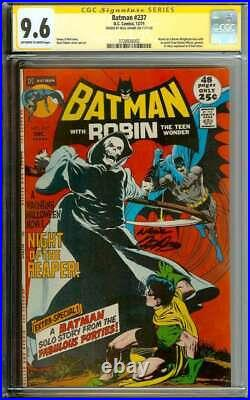 Batman #237 Cgc 9.6 White Pages // Signed By Neal Adams Signature Series 1971