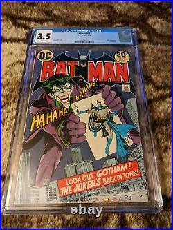 Batman 251 CGC 3.5 White Pages