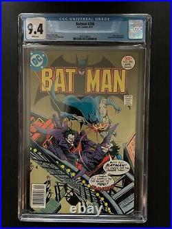 Batman 286 CGC 9.4 Joker App White Pages Wiacek Art DC Comic Book GR1-3