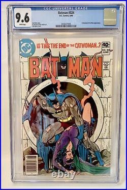 Batman #324 1980 Catwoman CGC 9.6 White Pages