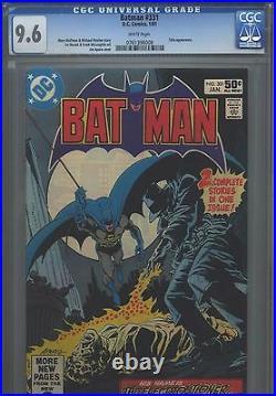 Batman #331 CGC 9.6 (1981) Talia Appearance White Pages