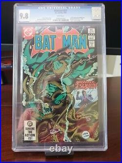 Batman #357 Cgc 9.8 1st Full Appearance Jason Todd Killer Croc 1983 White Pages
