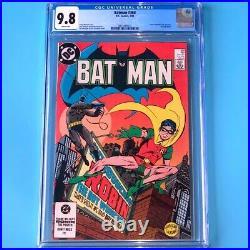 Batman #368 CGC 9.8 WHITE PGs Jason Todd Becomes 2nd Robin! DC Comic 1984