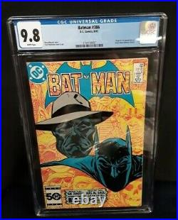 Batman #386 (1985) 1st Appearance Black Mask CGC Graded 9.8 with White Pages