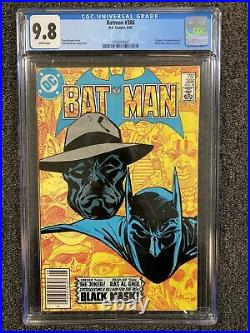 Batman 386 CGC 9.8 Newsstand White Pages 1st App. Of Black Mask