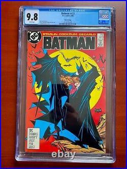 Batman #423 3rd Print Cgc 9.8 Todd Mcfarlane Cover White Pages