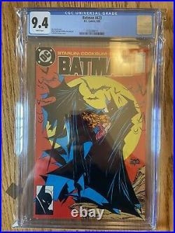 Batman #423 CGC 9.4 White Pages DC Comics 1st Print Hot Book Very Clean