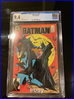 Batman #423 CGC 9.4 White Pages McFarlane Cover