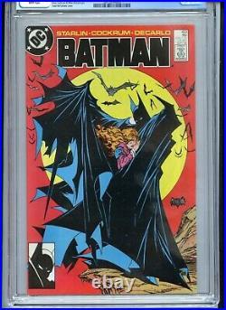 Batman #423 CGC 9.6 White Pages McFarlane Cover