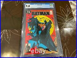 Batman #423 CGC 9.8 White Pages Classic McFarlane Cover
