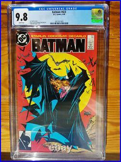 Batman #423 CGC 9.8 White Pages Classic McFarlane Cover 1st Print