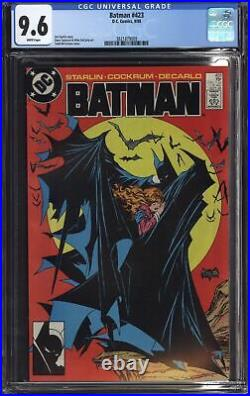 Batman #423 Cgc 9.6 Nm+ White Pages Classic Todd Mcfarlane Cover
