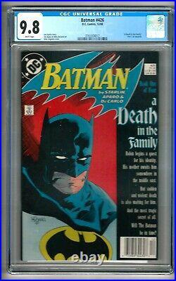 Batman #426 (1988) CGC 9.8 White Pages Starlin Aparo Mignola NEWSSTAND