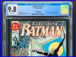Batman 457 CGC 9.8 NM/M 2nd Print White Pages 1st App Tim Drake HTF