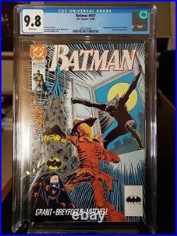Batman #457 CGC 9.8 NM/MT 1st App. Of Tim Drake as Robin WHITE