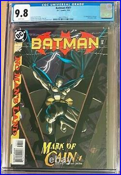 Batman #567 CGC 9.8 DC 1999 1st Cassandra Cain Batgirl Birds of Prey White pages