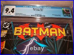 Batman 567 Cgc 9.4 White Pages 1st Batgirl Cassandra Cain 1999 Key Issue
