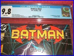 Batman 567 Cgc 9.8 White Pages 1st Batgirl Cassandra Cain Key Issue