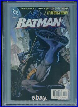 Batman #608 (2002) CGC 9.8 WHITE Jeff LOEB & Jim LEE (Hush!)