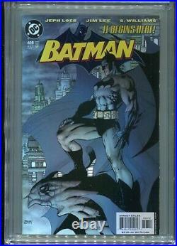 Batman #608 (2nd print) CGC 9.8 White Pages