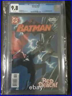 Batman #635 1st Red Hood CGC 9.8 White Pages DC Jason Todd Titans
