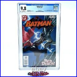 Batman #635 2005 CGC 9.8 White Pages First Appearance Jason Todd As Red Hood